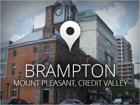 Brampton: Mount Pleasant, Credit Valley
